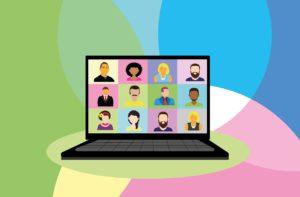 video conference, webinar, skype