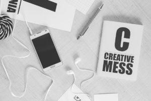 creative, work, mockup