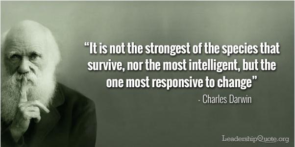 변화는 생존이다